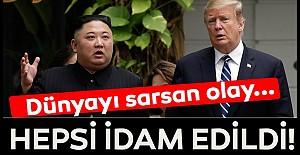 Tüm dünya şokta! Kuzey Kore ve ABD arasında yeni kriz