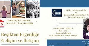 """""""Beşikten Ergenliğe"""" konulu seminer düzenleniyor"""
