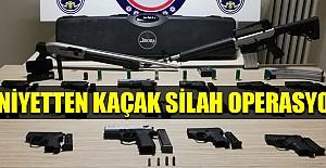 Emniyetten kaçak silah operasyonu