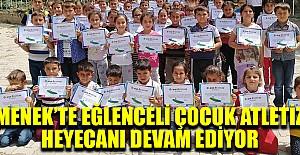 Ermenek'te Eğlenceli Çocuk Atletizmi heyecanı devam ediyor