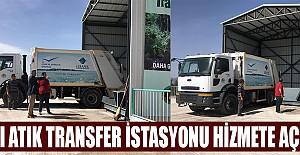 Katı Atık Transfer İstasyonu Açıldı