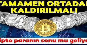 Kripto para birimleri için flaş açıklama!