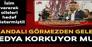 Medya CHP adayının valiye hakaretini görmezden geldi!