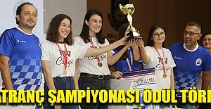 Satranç Şampiyonası Ödül Töreni