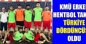 Erkek Hentbol Takımı Türkiye Dördüncü Oldu