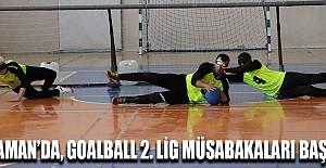 Karaman'da Goalball 2. Lig müsabakaları başladı
