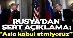 Rusya'dan son dakika açıklaması!