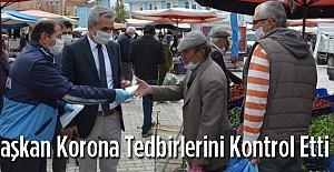 Ayrancıda Başkan Pazarı Gezdi..