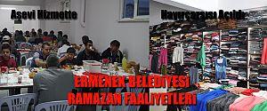 AŞEVİ RAMAZAN AYI BOYUNCA HİZMETTE