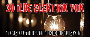 ELEKTRİK 3 GÜN GELMEYEBİLİR!!!