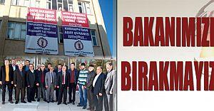 Esnaf Lütfi Elvan'in Karaman'dan Aday Olmasini İstiyor!