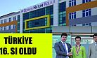 Gevher Hatun Koleji öğrencisi Mustafa Talha ARIKAN Türkiye 16. sı oldu.