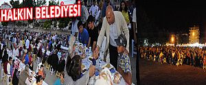 İFTAR SOFRASI LARENDE MAHALLESİ'NDE