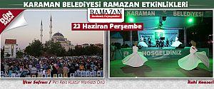 İFTAR SOFRASI ZİYA GÖKALP MAHALLESİ'NDE KURULDU