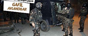 İstanbul'da terör örgütü operasyonları