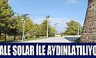 Karaman Kalesi SOLAR ile aydınlatılıyor