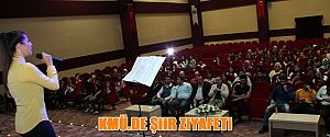 KMÜ de Şiir Zİyafeti