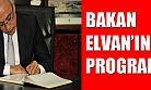 Lütfi Elvan'ın Karaman Programı