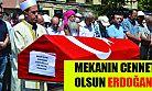 Şair Bekir Sıtkı Erdoğan, son yolculuğuna uğurlandı
