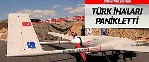 Türk İHA'ları Yunanistan'ı panikletti