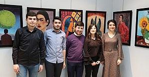 CÜ'de resim sergisi