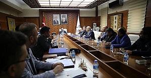 Gazetecilerle seçim güvenliği toplantısı yapıldı