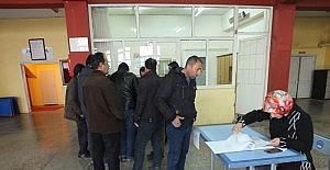 Sivas'ta istihdam edilecek işçiler için kura çekimi yapıldı