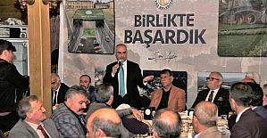 Muhtarlardan Başkan Aydın'a veda programı