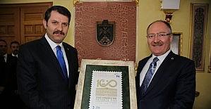 Belediye Başkanı Bilgin, Vali Ayhan'ı ziyaret etti