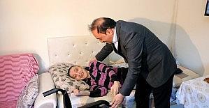 Eskişehir'de engellilere tekerlekli sandalye