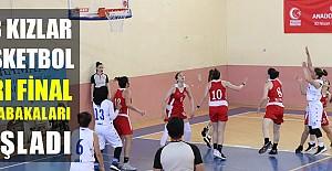 U18 Kızlar Yarı Final Müsabakaları Başladı