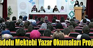 Anadolu Mektebi Yazar Okumaları Projesi