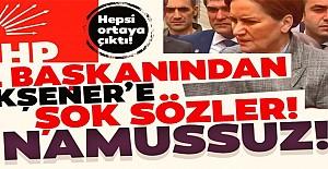 CHP İl Başkanından Akşener'e Şok Sözler!