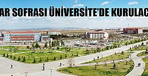 İftar Sofrası Üniversitede Kurulacak