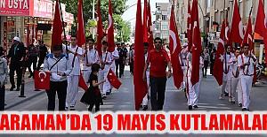 Karaman'da 19 Mayıs Kutlamaları