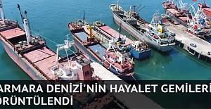 Marmara Denizi'nin hayalet gemileri