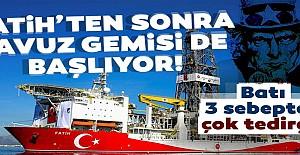 Fatih'ten sonra Yavuz gemisi de başlıyor!
