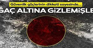 Siirt'te PKK'ya ait mühimmat ele geçirildi!