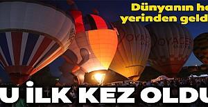 Uluslararası Kapadokya Sıcak Hava Balon Festivali başladı!