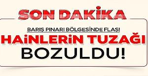 Barış Pınarı Bölgesi'nde flaş!