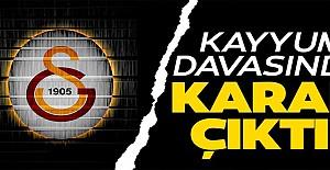 Galatasaray için Kayyum davası reddedildi!