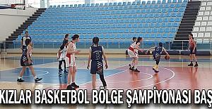 U14 Kızlar Basketbol Bölge Şampiyonası Başladı