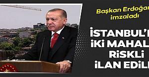 Başkan Erdoğan imzaladı!