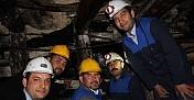 Hüseyin Mutlu Sahuru Madende Yaptı