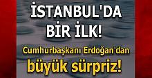 İstanbul'da bir ilk