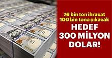 Kiraz ihracatında hedef 300 milyon dolar