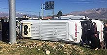 Antalya'da feci kaza: 23 yaralı