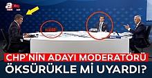 Ekrem İmamoğlu moderatörü öksürükle mi uyardı?