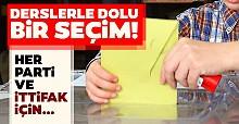 İstanbul seçimi dersleri