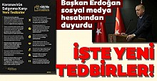 Başkan Erdoğan sosyal medya hesabından duyurdu!